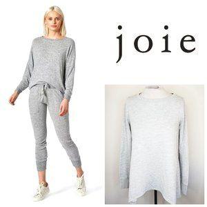 JOIE USA Cotton/Rayon Oversized Grey Sweatshirt